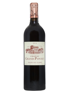 Chateau Grand Pontet 2014 Saint-Emilion Grand Cru Classe